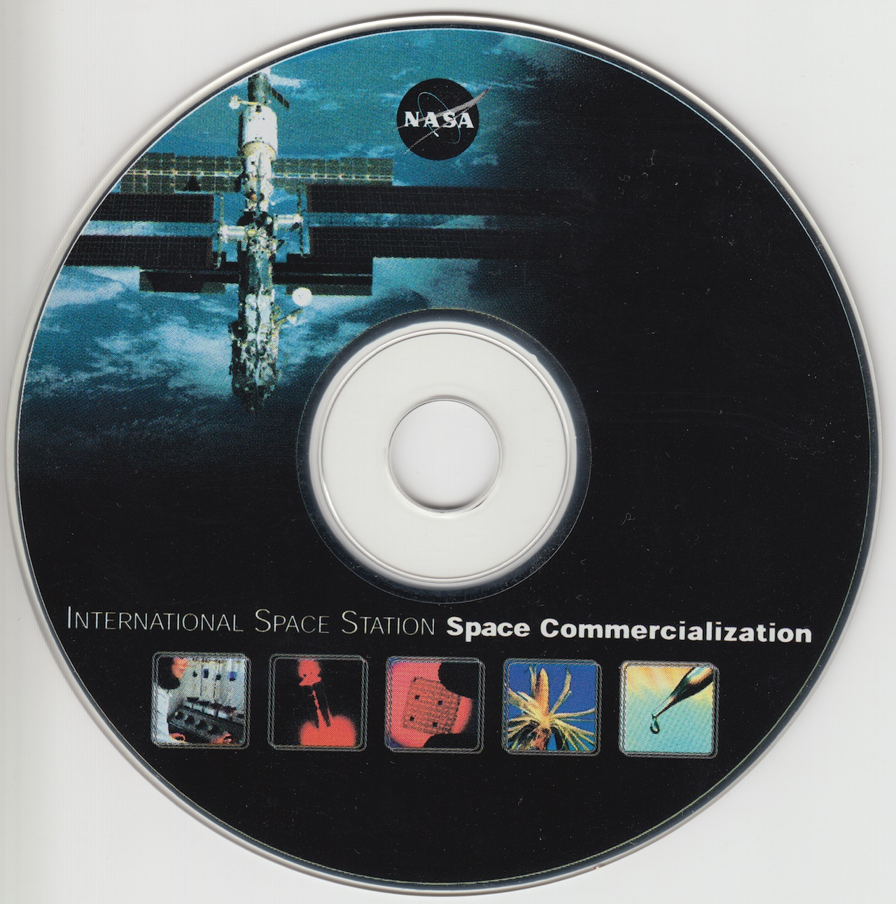 International Space Station Space Commercialization CD-ROM